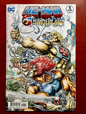 He-Man/thundercats #1 ~ Nm/mt (9.8) ~ 1St Print ~ Unread ~ Sold Out ~ Hero Cover