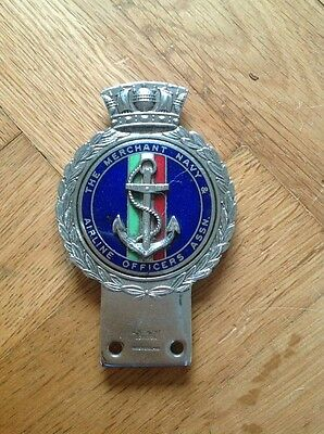 J R Gaunt Car Badge - The Merchant Navy Airline Officers Association