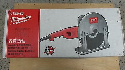 """Milwaukee 6185-20 14"""" Hand-Held Abrasive Cut-Off Saw.  New in Box"""
