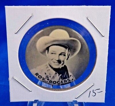 Roy Rogers TV Advertising Pin Pinback Button 1 1/4""