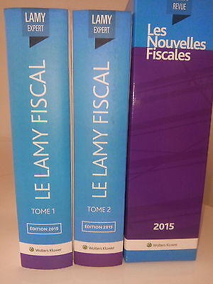 Lamy Fiscal Tome 1 Et Tome 2 Version 2016