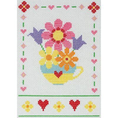 Anchor Starters - Counted Cross Stitch Kit - Flowers - AK131