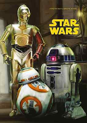 Unofficial Star Wars C-3PO R2-D2 & BB-8 (20) *A3* print Poster - Rogue One
