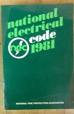 Vintage 1981 Paperback National Electrical Code NEC Manuel 1981