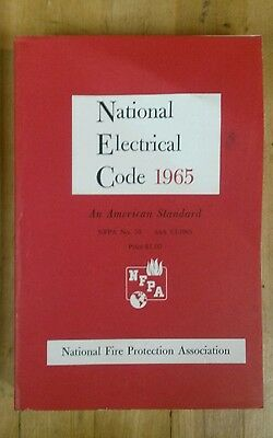 Vintage 1965 Paperback National Electrical Code NEC Manuel 1965