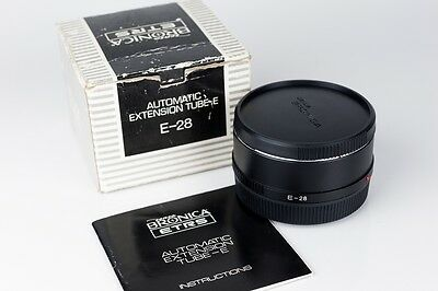 Zenza Bronica ETRS Automatic Extension tube-E,-28 / tubo extension