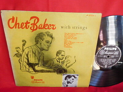 CHET BAKER With Strings LP 1956 ITALY VG First Pressing