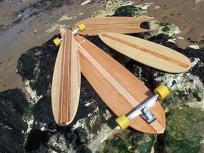Longboard Custom Shaped Skateboard Deck