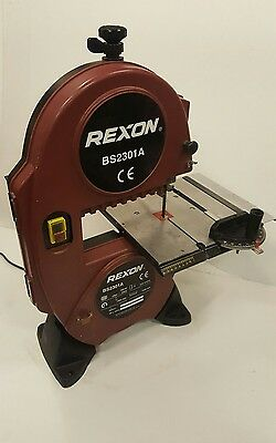 Rexon BS2301A Band Saw With Spare Blades