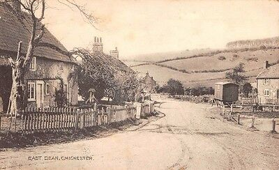Sussex -  EAST DEAN, Village Scene, nr Chichester, by Bryant Bros, The Stores.