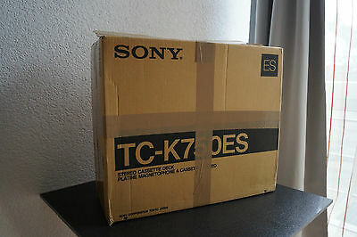 Originalverpackung Tapedeck Sony TC-K750ES ! ONLY THE BOX !