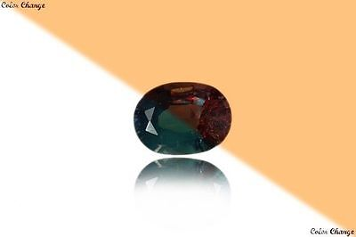 0.135 Ct Unique 100% Nr' Dancing Color Change Alexandrite Gemstone Aaa Oval !!!