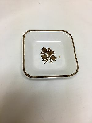 tea leaf ironstone square butter pat plate Alfred Meakin Royal Ironstone China