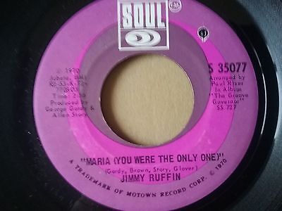 """jimmy ruffin-""""maria (you were the only one)"""" 7"""" vinyl"""