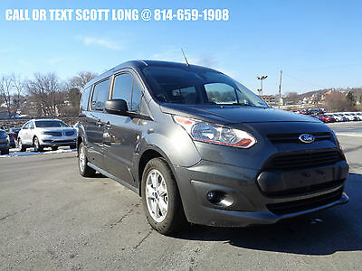2016 Ford Transit Connect 2016 Ford Transit Connect XLT 6 Passenger  Certified 2016 Ford Transit Connect XLT With Rear Liftgate 6 Passenger LWB