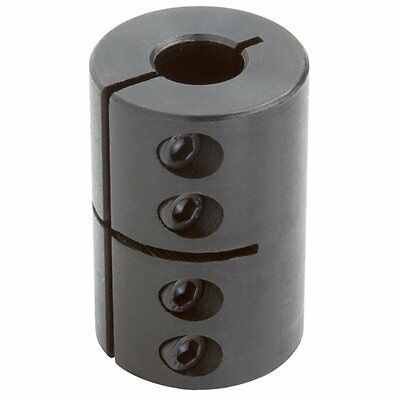 Climax Part CC-062-050 Mild Steel, Black Oxide Plating Clamping Coupling, 5/8 X