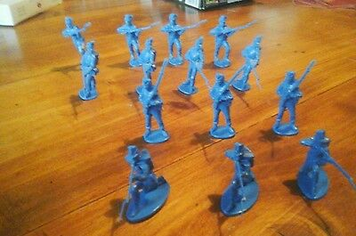A Call To Arms Plastic Belgium Infantry--Napoleonic Wars--1/32 Scale--Waterloo