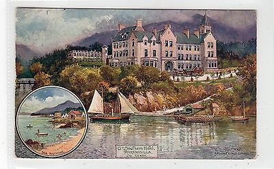 GREAT SOUTHERN HOTEL, PARKNASILLA: Railway Official postcard by Jotter (C25743)
