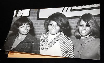 1968 THE SUPREMES Diana Ross Vintage 5x7 Press Photo