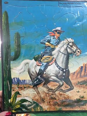 Lone Ranger Frame Tray Puzzle 19.55