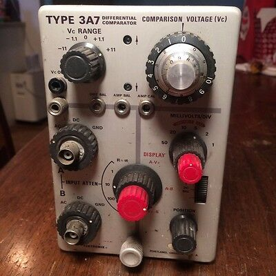 Tektronix 3A7 Differential Comparator
