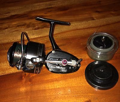 Garcia Mitchell 300A Spinning Reel - Spare Spool And Spool Case