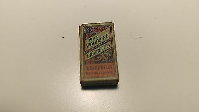 Miniature Pack Of Wild Woodbine Cigarettes Measures Only 1 Inch