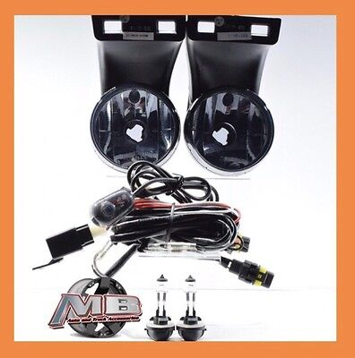 94-01 Dodge Ram Smoked Fog Lights Driving OEM Replacement Lamps wiring+ switch