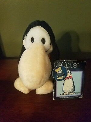 NEW - Vintage Opus Plush With Tags 1985 Dakin Bloom County