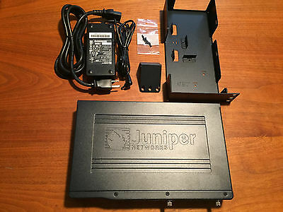 Juniper SRX210H Services Gateway equipped with Power Supply and Rack Mount