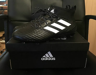 adidas Ace 17.2 Primemesh FG Football Boots Mens - Black/White UK 11 RRP £100
