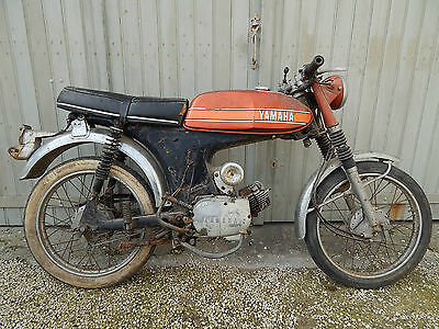 1973 Yamaha Fs1E Restoration Project. Ss50 . To Collect From Oxford