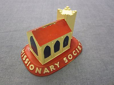 Vintage Church Charity Collection Box Methodist Missionary Society