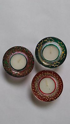 Christmas Festive Candle / Tealight Holders and Candles / Tealights