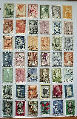 Greece. Collection of 42 stamps.      C