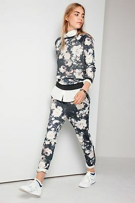Matching Vila Floral Pants Trousers And Top Size Small 10
