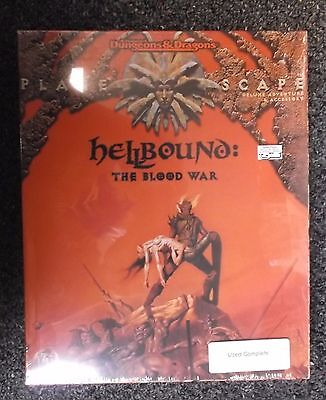 Advanced Dungeons & Dragons PlaneScape Hellbound: the Blood War Box Set