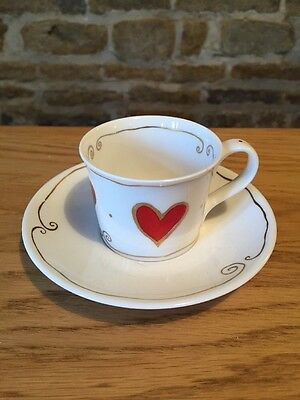 Dunoon Fine Bone China Cup & Saucer