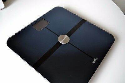 Withings WBS0503 - Body - Body Composition Wi-Fi Scale - Black