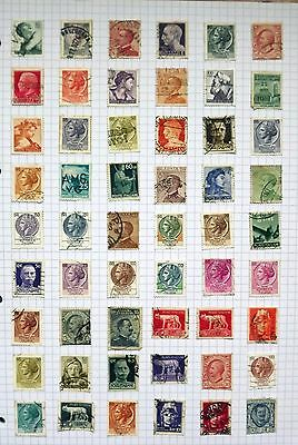 Italy. Collection of 54 stamps.       B
