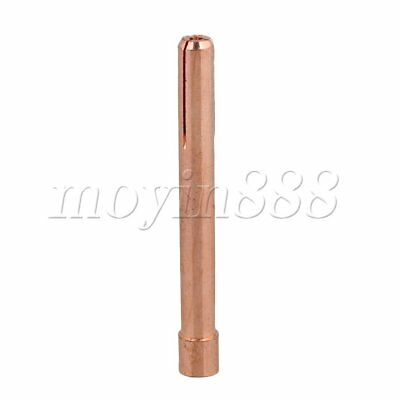 WP17/18/26 2.0MM TIG Collet Tip for Clamping Tungsten Electrodes Coppery