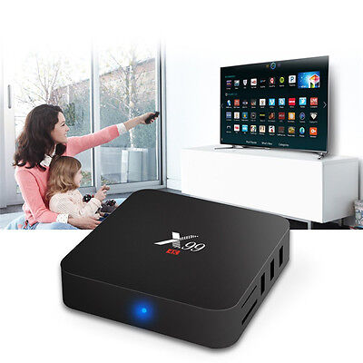 X99 RK3229 Octa Core Android 5.1 Smart TV BOX 8GB WIFI Streaming Media Player