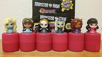 Monster High Series 1 Mashems COMPLETE!!!! All 6 w/ Capsules NEW - RARE!!!