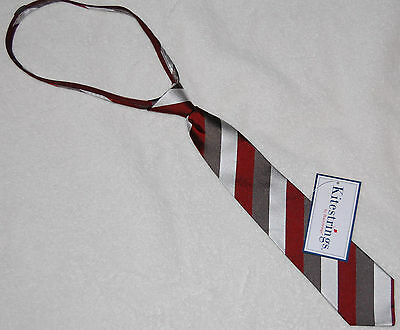 NWT Boys 100%  Silk Tie Kitestring's by Hartstrings Size Large Multi-Color