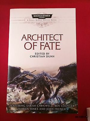 WH 40k ARCHITECT OF FATE paperback Warhammer Black Library