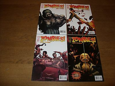 IDW Comics - ZOMBIES! Eclipse of the Undead #1-4 (Complete) VF/NM