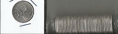 Canada 1994 Roll Of Uncirculated 25 Cent Quarter