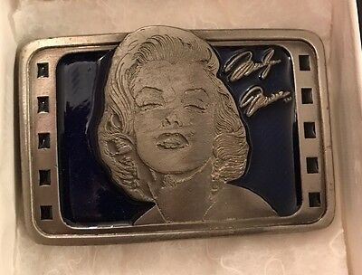 Marilyn Monroe Collectable Limited Edition Belt Buckle First Edition
