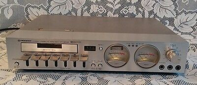 Pioneer CT-3000 Cassette Tape Deck Player Recorder Rare Vintage WORKING Dolby