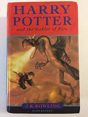 First Edition ~ Harry Potter And The Goblet Of Fire Hardback Book Bloomsbury